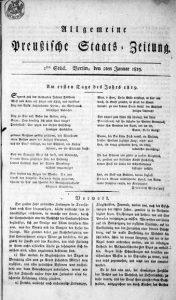 Preußische Staats-Zeitung