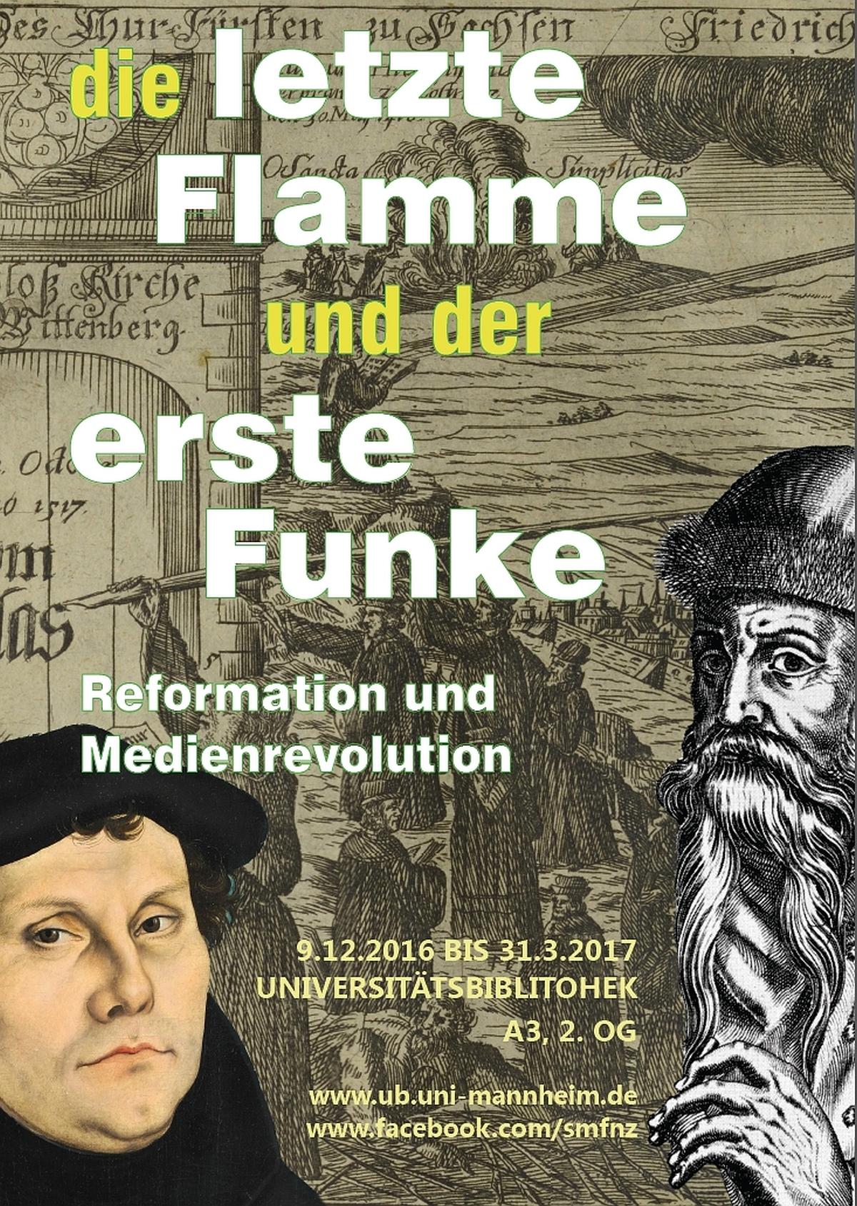 Ausstellung Die letzte Flamme und der erste Funke